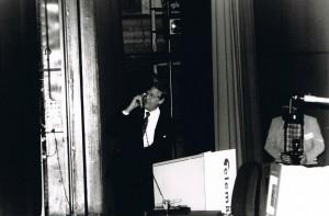 Tijdens de opening van Telematica 96 werd de eerste DRIP in Nederland officieel in werking gesteld door ir. Bram Westerduin