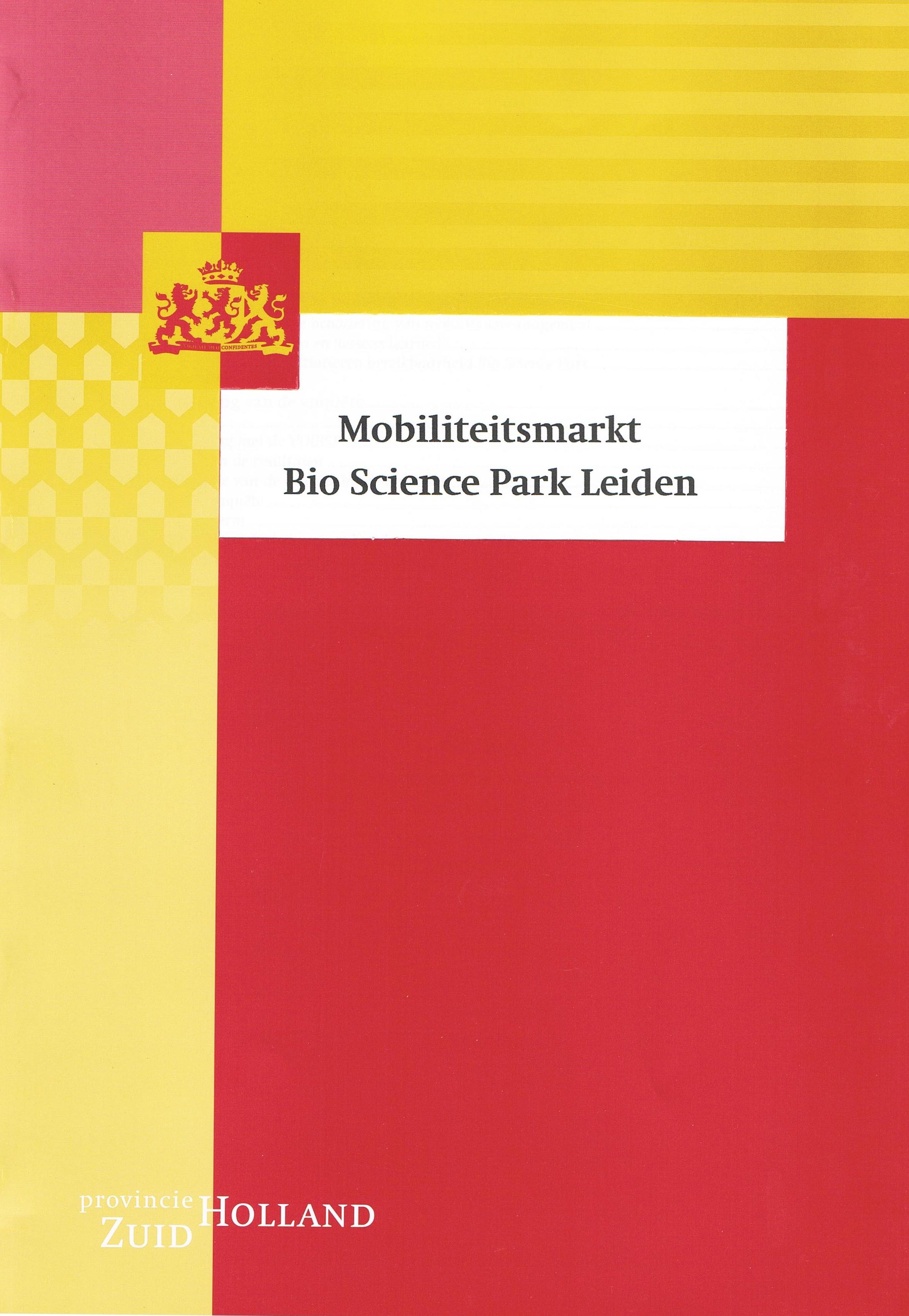 Op BioSciencepark werd in 2003 met een digitale enquête een respons van 100% bereikt