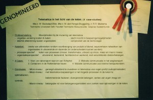 Telematica96 Student Award nominatie