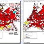 Voorbeelden UCP analyse resultaten, voorlopers van www.Bereikbaarheidskaart.nl