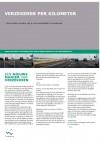 Eerste Flyer die Transumo publiceerde over het project Verzekeren per kilometer.