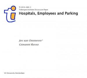 Evaluatie van de resultaten van het parkeerbeleid bij Bronovo